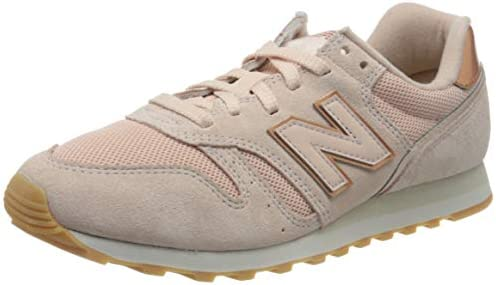 New Balance 373 Trainers Womens Shoes, Color Pink (Smoked Salt ...
