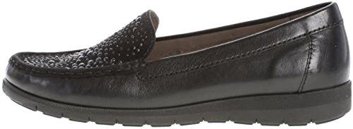 Gabor Women's 74.241.27 Loafer Flats Black fEt7Sb2val