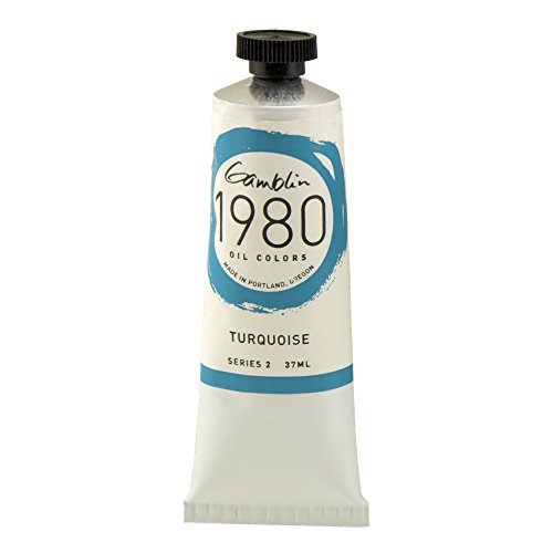 (Gamblin 1980 Oil Turquoise 150Ml)