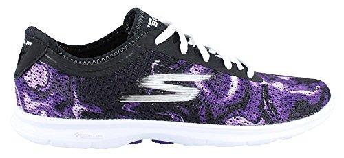 donna Sneaker BLACK BLACK Skechers donna PURPLE Sneaker Skechers Skechers PURPLE wx0Pvq7