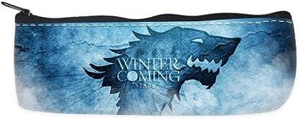 Invierno de Juego de Tronos viene estuche bolsa pluma personalizada: Amazon.es: Oficina y papelería