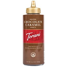 Torani Salted Chocolate Caramel Sauce Retail