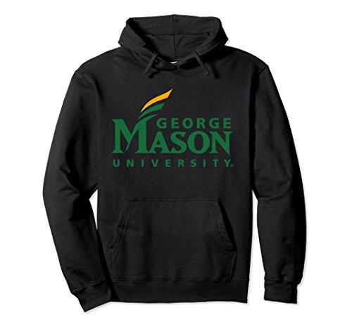 Unisex GMU Patriots Women's College NCAA Hoodie PPGMU08 2XL (Black Classic College Hoody Sweatshirt)