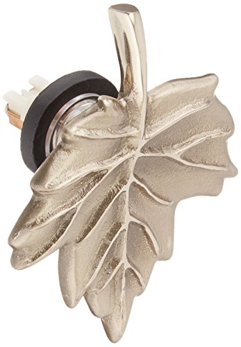 Maple Leaf Doorbell Ringer - Nickel Silver (Leaf Doorbell Ringer)