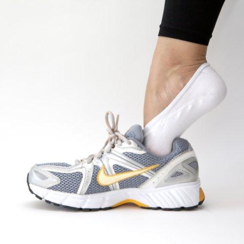 SHEEC - SoleHugger ACTIVE - Women's No-Show Cotton Casual Socks *Non Slip*
