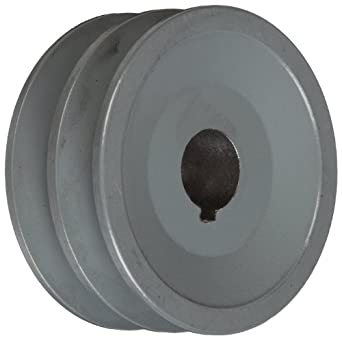 "TB Woods 2AK3034 FHP Bored-To-Size, 3.05"" Outside Body Diameter, 0.75"" Bore Diameter V-Belt Sheave"