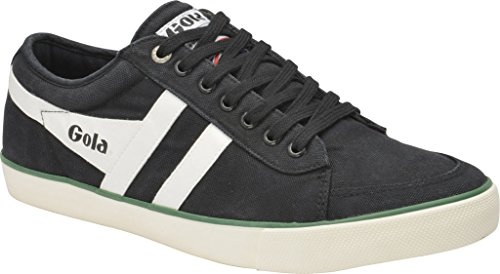 Gola Men's Comet Black/Off-White/Green Shoe