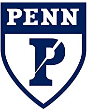 So Cool Stuff UPenn Logo - Vinyl - 4 Inches (Color: Blue) Decal Laptop Tablet Skateboard Car Windows Stickers