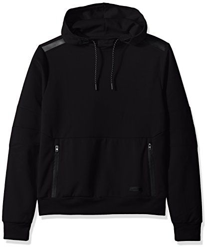 - Southpole Men's Tech Fleece Hooded Tops (Full-Zip, Pullover), Black, X-Large