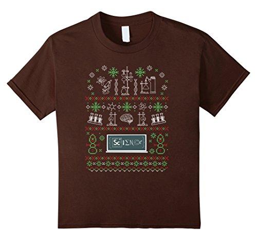 Ugly Christmas Science T Shirt