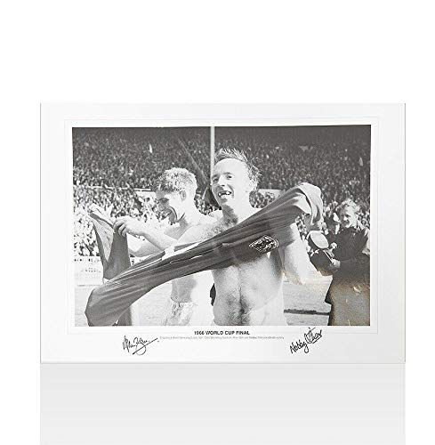 Alan Ball & Nobby Stiles Signed Photo - 1966 World Cup Final Autograph - Autographed Soccer Photos