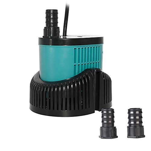 boxtech Submersible Water Pump - Ultra Quiet Mini 1056 GPH 60W with 12ft High Lift Powerhead Fountain Pump for Aquarium Fish Tank, Pond, Rockery and Hydroponics