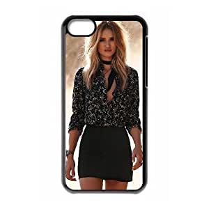 Popular And Durable Designed TPU Case With Rosie Huntington-Whiteley_015 FOR iphone 5c Cell Phone Black Case