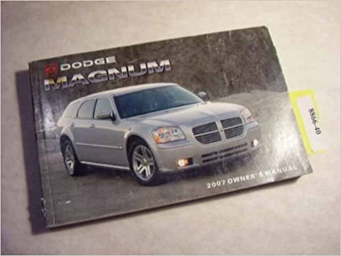 2006 dodge magnum manual