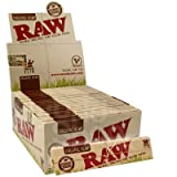 Raw Organic Papers King Size Slim Display Box Of 50 Packs