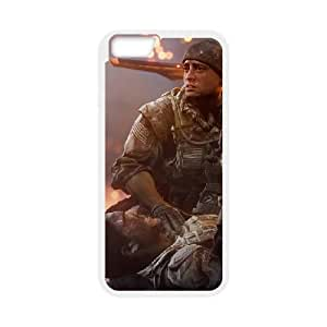 Battlefield 4 iPhone 6 4.7 Inch Cell Phone Case White yyfD-392380