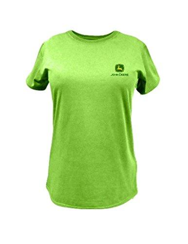 John Deere 'Property of John Deere' T-Shirt - Women's - Apple Green, Medium (Deere Ladies Shirt John)