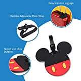 Finex 4 Pcs Set Mickey Mouse and Minnie Mouse
