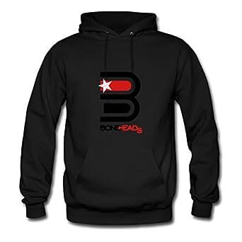 Mabelbennett Bonehds_srt_3 Printed Sweatshirts X-large For Women Black