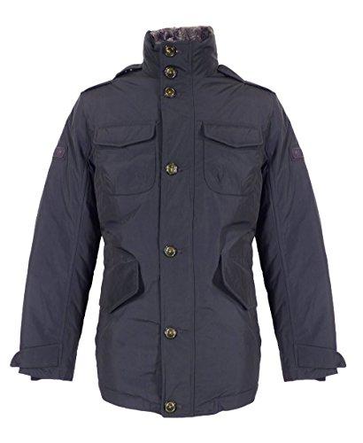Woolrich Navy giacca Blu Field Pelliccia Hudson nPWYwPqv1