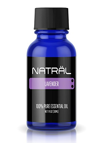 NATRÄL Lavender, 100% Pure and Natural Essential Oil, Large 1 Ounce Bottle