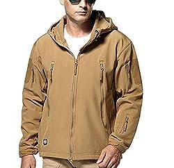 Softshell Fleece Jacket Tad Kryptek Sharkskin Swat Black Stealth Hoodie Small Brown