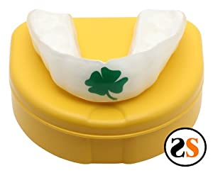 Custom IRISH SHAMROCK MMA MouthGuard