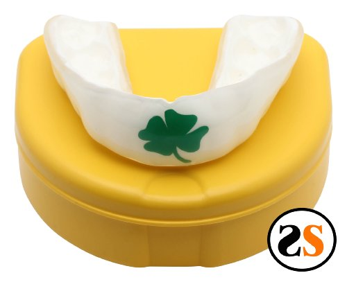 Custom IRISH SHAMROCK MMA MouthGuard by SportingSmiles
