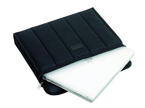 LIGHTPAK Notebook-Tasche CASSINO , Polyester, schwarz VE=1(Liefermenge