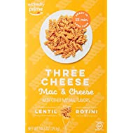 Wickedly Prime Lentil Pasta Meal, Three Cheese Mac & Cheese, 10.3oz