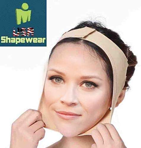 Facial Compression & Chin Support Continual Chin Support and Pressure - Medium Beige