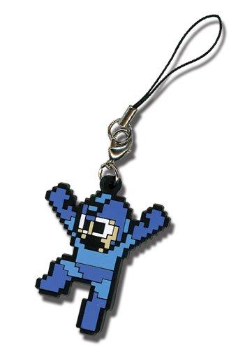 Mega Man 10 Cell Phone Charm Keychain GE-8188