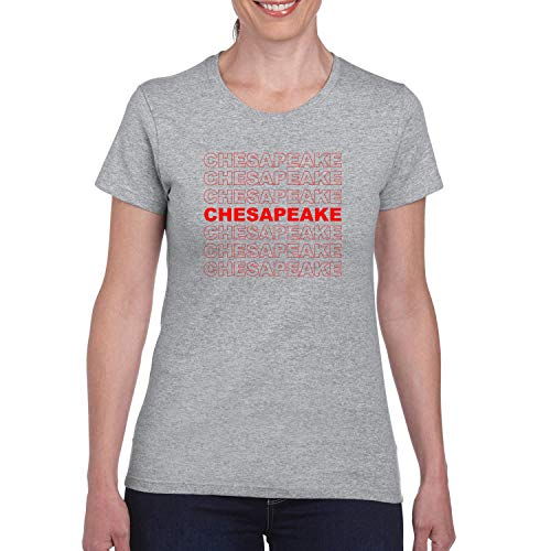 Red Box Logo Chesapeake City Pride Womens Graphic