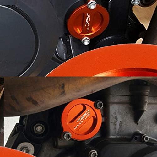 CNC Aluminium Motor /Ölfilter Abdeckkappe f/ür KTM 790 Adventure R S 2019 2020