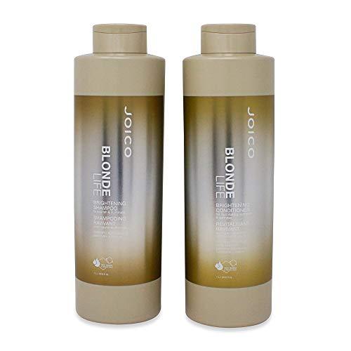 Joico Blonde Life Brightening Shampoo & Conditioner 33 oz. LITER SET