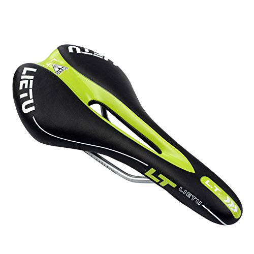 BIKEIN PRO MTB Bike Saddle Breathable Comfortable Bicycle Seat Ergonomics with Central Relief Zone Design