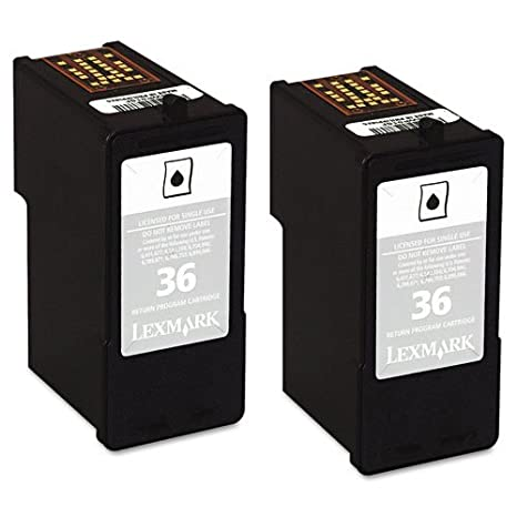 Lexmark 18C2230 cartucho de tinta Original Negro Multipack 2 pieza ...