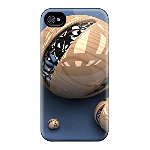 LJF phone case ZcYoUPb2835ncunb ConnieJCole Cool 3d Spheres Feeling Iphone 4/4s On Your Style Birthday Gift Cover Case
