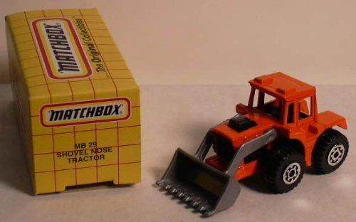 Shovel Nose Tractor Matchbox #29 MIB