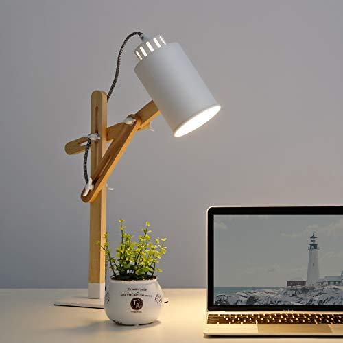 Tisch- Tomons Holz multiple Winkel Schwenkarm Designer Lampe Bett Büro-