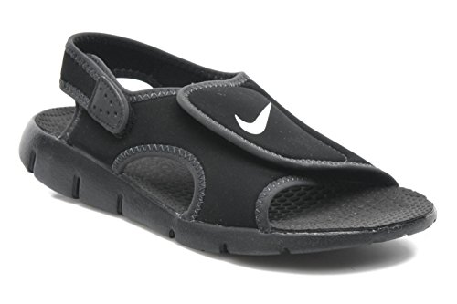 c06b0a03dcd2 Nike Kids Sunray Adjust 4 Sandals Black Anthracite White 3Y - Buy Online in  Oman.