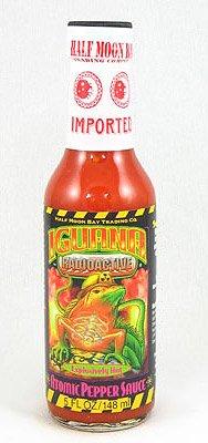 Iguana, Hot Sauce Atomic Pepper, 5 Ounce ()
