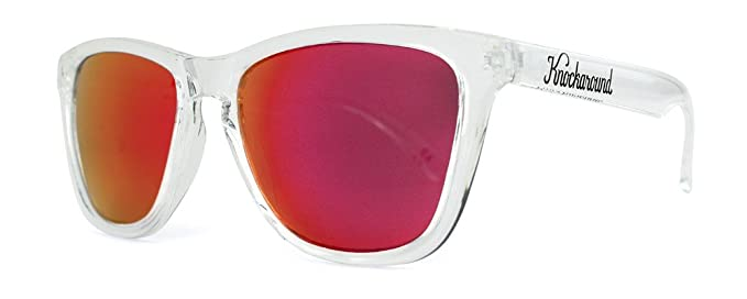 Gafas de sol Knockaround Classic Premium Clear / Red Sunset