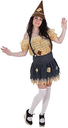 LLOPIS - Disfraz Adulto espantapájaros Mujer: Amazon.es: Juguetes ...