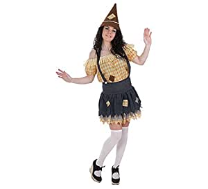 LLOPIS - Disfraz Adulto espantapájaros Mujer: Amazon.es: Juguetes y juegos