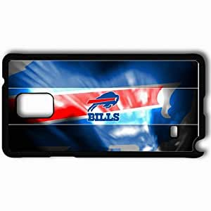 Personalized Samsung Note 4 Cell phone Case/Cover Skin 1440 buffalo bills Black by lolosakes
