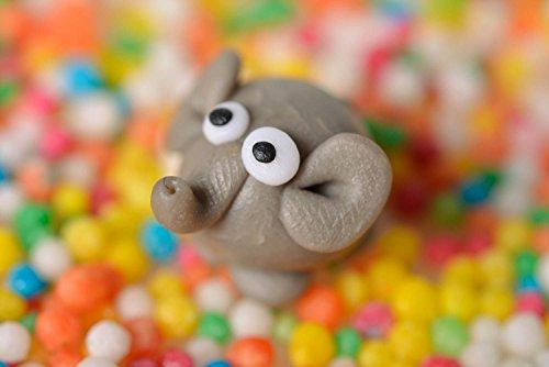 Unusual Figurine For Home Interior Decor Ideas Handmade Toy Elephant Statuette