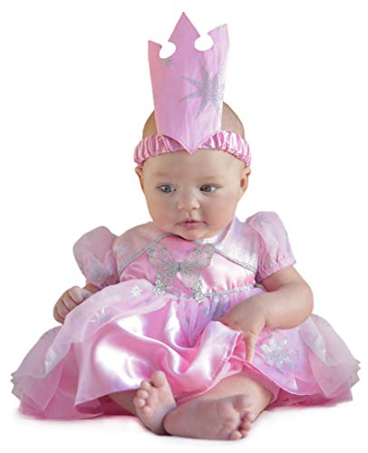 Baby Glinda Costume (Princess Paradise Baby The Wizard of Oz Glinda Newborn Costume, Pink, 3 to 6)