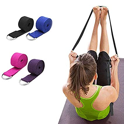 2.5m Yoga Stretch Strap Fitness Exercise Yoga Strap Waist ...