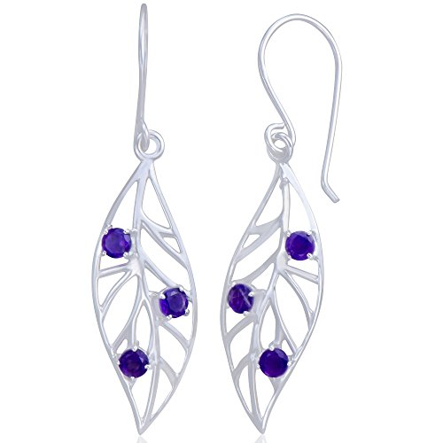 (Adorable 925 Sterling Silver White Moonstone Pear-Shaped Earrings)